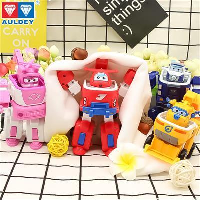 正版超级飞侠多多变形工具车 乐迪消防工程车男孩玩具1器人套装1